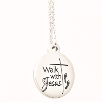 Walk with Jesus Necklace